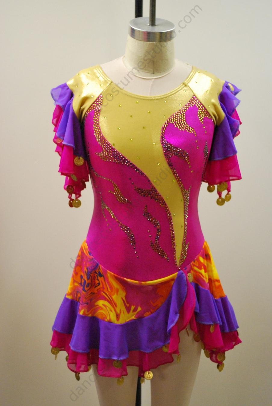 Figure Skating Dresses Performing Outfit Design Studio