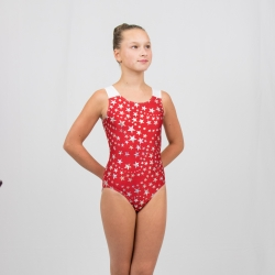 Gymnastics racer back tank leotard