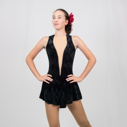 Classical Style Competition figure skating tank dress