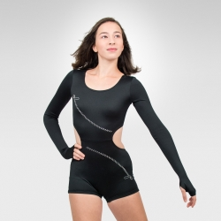 Zip-Performance long sleeves biketard-hottard