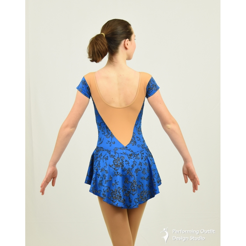 Princess Competition Figure Skate Dress Performing