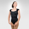Cap sleeve dance leotard-Front