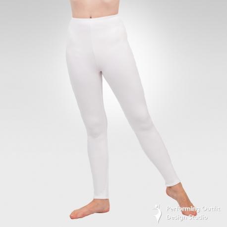 Spandex leggings- White
