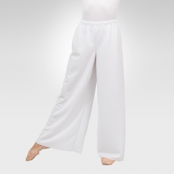 Wide leg pants- White