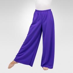 Wide leg pants- Purple
