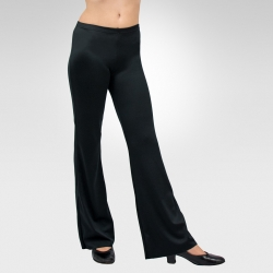 Spandex low-rise  boot-cut pants