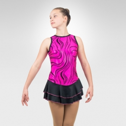 Sunset Melody figure skating tank dress