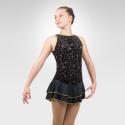 Floral Melody figure skating dress