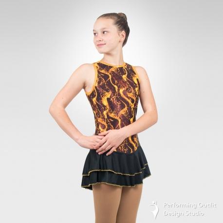 Lava Melody figure skating dress