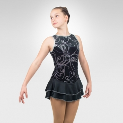 Moonlight Melody figure skating dress