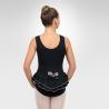 Ballet tank leotard w/back ruffles