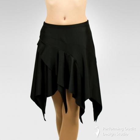 Pointed dance skirt