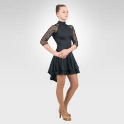 Cha-Cha Ice & Latin dance dress- Front