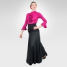 High waist Flamenco skirt