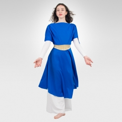 Joy knit overdress- Royal Blue