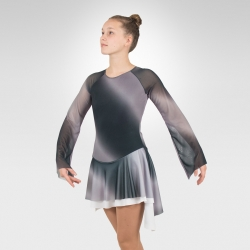 Earth figure skating dress