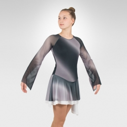 Earth figure skating dress-Front