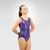 Gymnastics sweetheart print tank leotard