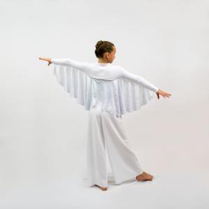 Andel Wings Liturgical Dancewear Jacket