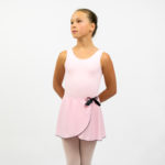 Ballet pink skirt with bow