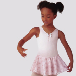 Ballet Spandex Leotard with Lace Skirt