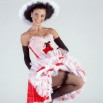 Can-Can Dance Costume