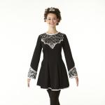 Celtic Black Dance Dress