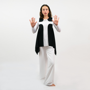 Everlasting Liturgical Dance Overlay Tunic