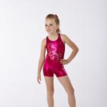Gymnastics Foil Sequin Fuchsia Hottard