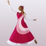 Liturgical Sleeveless Hope Dance Overdress