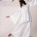 Lyrical Mock Wrap Liturgical Dance tunic Praise Dancewear