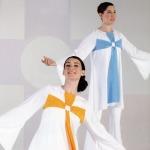 Modern Liturgical Praisedancewear Cross Tunic