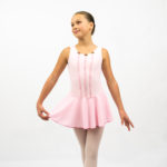 Pink rozette ballet dance dress