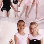 Ruffle Lace Pink Black Dance Ballet Leotards