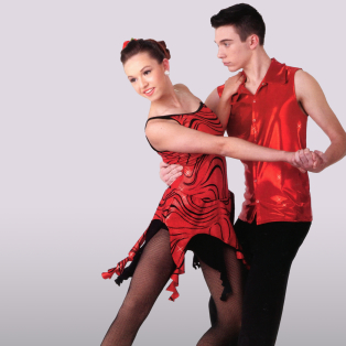 Ballroom Latin Dance Dress Featured Image