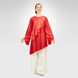 Awaken asymmetrical top red