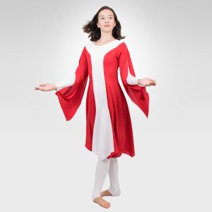 Grateful Lyrical Overdress Liturgical Dancewear Red